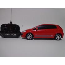 Carro Controle Remoto Fiat Punto T Jet Vermelho 1/18 Cks