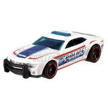 2010 Camaro Ss Police Thunt Hotwheels 2012 Novo Lacrado