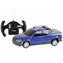 Carro Controle Remoto Fiat Strada Adventure 1:24 Cks Toys