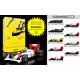 Coleção F1 Ayrton Senna Completa Kyosho Escala 1/64