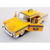 Miniatura Chevrolet Bel Air 1957 1/40 Taxi Antigo Kinsm Cp55