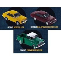 Col. Chevrolet Collection Vol.1+2+3 Chevette Opala M.rocha