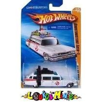 Hot Wheels Ecto1 Ghostbusters Caça Fantasmas Lacrado 1:64