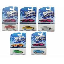 Coleção Hot Wheels Cool Classics Lote L Pack C/ 5 - Mattel Y