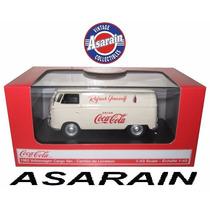 Vw - Kombi 1962 Cargo Van Coca Cola Motorcity - 1/43