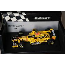 Miniatura F1 Jordan 198 W Tower Wings Hill Minichamps 1/18