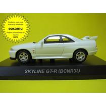 Nissan Skyline Gt-r R33 (bcnr33) Kyosho 1/64 Novidade