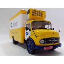 Miniatura Caminhão Mercedes-benz 1113 Ano 68 Kibon-1:43 Ixo