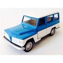Miniatura Ford Willys Rural 1972 Carros Brasileiros 2