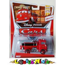 Disney Pixar Cars 2 Red Ruivo Bombeiro Dos Carros Deluxe