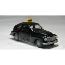 Raridade Volvo Pv 544 Taxi Ho 1:87 Praliné Miniatura