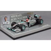 Minichamps 1/43 Mercedes Amg Mgp W01 F1 Schumacher 2010