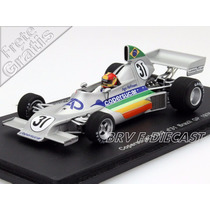 1/43 Spark Copersucar Fd02 Ingo Hoffmann Gp Brasil F1 1976