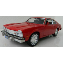 1/24 Ford Maverick V8 1974 Motormax Vermelho 1:24 73326 Novo