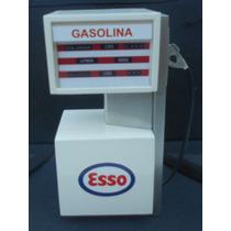 Miniaturas Bomba De Gasolina Esso - Shell - Texaco - Diorama