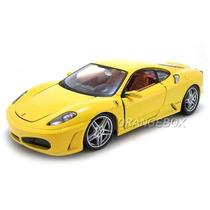 Kit Para Montar Ferrari F430 1:24 Maisto 39259-amarelo