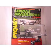 Lendas Brasileiras Ed. 15 Nelson Piquet Brabham Bt52b 1983