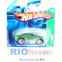 Hot Wheels T-hunt 2007 ´69 Camaro Z28 Não Super Não Beetle