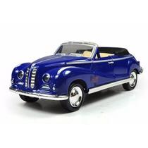 Carro Miniatura Conversível Modelo Antigo De Metal P/entrega