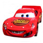 Disney Pixar The World Of Cars - Bug Mouth Lightning Mcqueen
