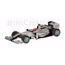 Minichamps F1 1/43 Mercedes Gp 2010 Michael Schumacher