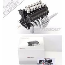 1/18 Truescale Motor Honda V12 Da Mclaren Ayrton Senna F1 91