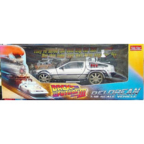 Tk0 Car Sunstar 1:18 Back To The Future 3 Delorean Railroad