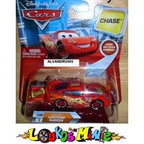 Disney Cars Lightning Mcqueen Chase Mexe Os Olhos Rust-eze
