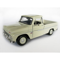 1/24 Chevy C10 Fleetside C-10 Pick Up 1966 Bege Motormax