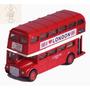 Miniatura Ônibus De Londres Dois Andares