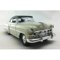 Miniatura Chevrolet Bel Air 1953 Com Capota Bege