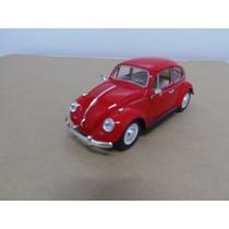Miniatura Metal Carro Antigo Coleção Fusca Escala 1:24 1967