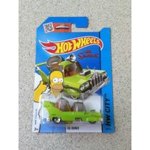 Carrinho Hot Wheels The Homer - The Simpsons Coleção 2015