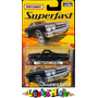 Matchbox 1970 Chevy El Camino Superfast #46 Preta Fosco 1:64