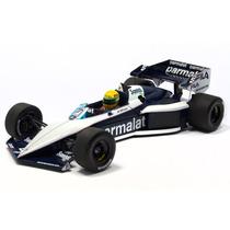 Minichamps 1/18 Brabham Bt52b F1 1983 Senna X Piquet Wc Bmw