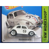 Volkswagen Beetle Fusca Herbie Love Bug Hot Wheels 2014
