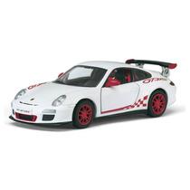 Carrinho 2010 Porsche 911 Gst Rs - Miniatura 1/32 Ferro