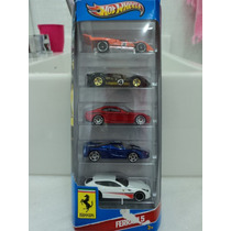 Hot Wheels - Pack Ferrari 5 - 2013 - Lacrado