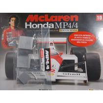 Mclaren Mp4/4- Ayrton Senna Planeta De Agostini Edição 10