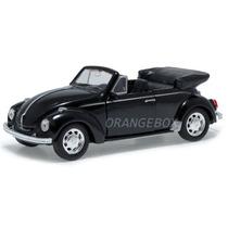 Volkswagen Fusca Beetle 1:34 Welly 42344c-preto