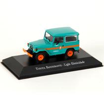 Miniatura Em Metal - 1:43 - Toyota Bandeirante - Light Eletr