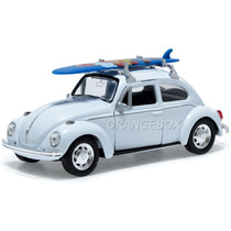 Volkswagen Fusca Beetle 1:34 Surf Welly 42344surf-branco