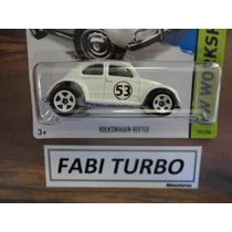 Hot Wheels Fusca Herbie Volkswagen Beetle - 2014