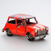 Enfeite Forma De Carro Ingles De Ferro 19x8,5x8,5cm R 30021