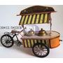 Carrinho De Sorvete Ice Cream Vintage Retrô Decoração 30 Cm