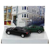 Diorama Steve Mcqueen Bullitt Seri 5 Greenlight 1:64 56050-2