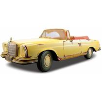 Mercedes-benz 280se Maisto Old Friends 1:18 Carros Miniatura