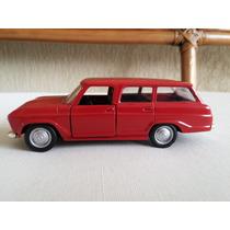 Miniatura Chevrolet Veraneio Vermelh Carros Brasileiros 1:43