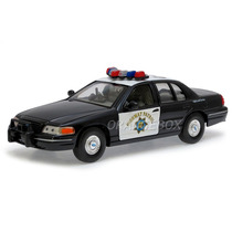 Ford Crown Victoria 1999 Highway Patrol 1:24 Welly 22082