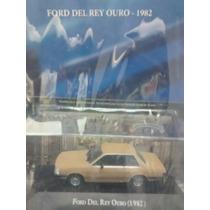 Coleção Carros Inesquecíveis Brasil - Ford Del Rey Ouro 1982